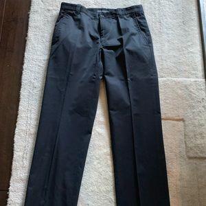 John Varvatos black dress pants, size 46.